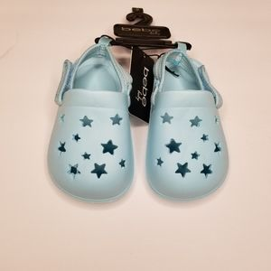 BEBE Baby Infant Teal shoes Sz 5